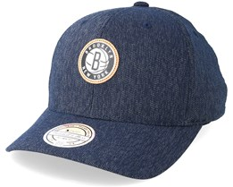 Brooklyn Nets Kraft Navy 110 Adjustable - Mitchell & Ness