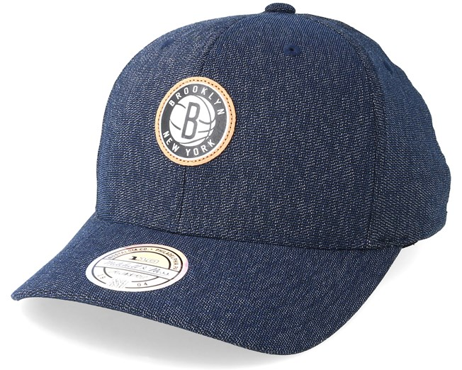 a33ff64b3aa Brooklyn Nets Kraft Navy 110 Adjustable - Mitchell   Ness caps -  Hatstoreaustralia.com