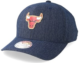 Chicago Bulls Kraft Navy 110 Adjustable - Mitchell & Ness