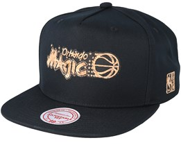 Orlando Magic Cork Black Snapback - Mitchell & Ness