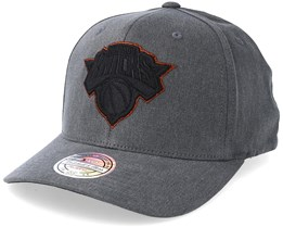 New York Knicks Washed Denim Charcoal 110 Adjustable - Mitchell & Ness