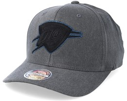 Oklahoma City Thunder Washed Denim Charcoal 110 Adjustable - Mitchell & Ness