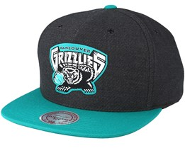 Vancouver grizzlies Reflective Charcoal Snapback - Mitchell & Ness