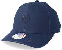 Own Brand Inerlocked Navy 110 Adjustable - Mitchell & Ness