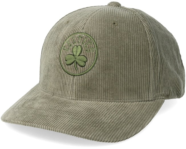 e123a99e5 Boston Celtics Cord Hiking Green Adjustable - Mitchell & Ness caps ...