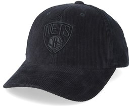 Brooklyn Nets Cord Black Adjustable - Mitchell & Ness