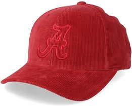 Alabama Crimson Tide Cord Red Adjustable - Mitchell & Ness
