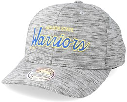 Golden State Warriors Slub Print Grey 110 Adjustable - Mitchell & Ness