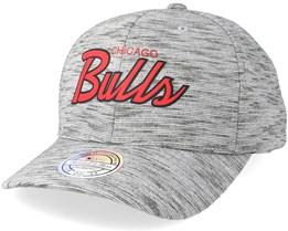 Chicago Bulls Slub Print Grey 110 Adjustable - Mitchell & Ness