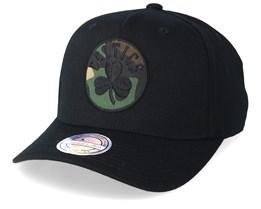 sale retailer 64fef ecf34 Boston Celtics 110 Black Camo Adjustable - Mitchell   Ness