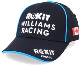 Rokit Williams Racing 2020 Flag Nicholas Latifi Black/Black Adjustable - Formula One