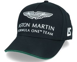 Aston Martin F1 Driver LS Cap Black Adjustable - Formula One