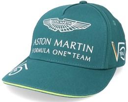 Kids Aston Martin F1 Driver SV Cap Green Adjustable - Formula One