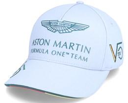 Aston Martin F1 Driver SV Cap Grey Adjustable - Formula One