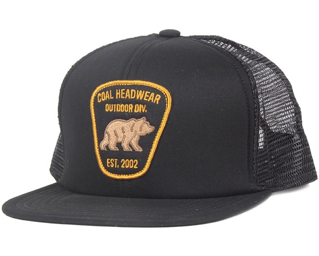 4f833cd001f The Bureau Black Snapback - Coal caps - Hatstoreworld.com