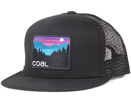 The Hauler Black Trucker Snapback - Coal