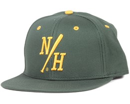 Batter Green/Yellow Snapback - Northern Hooligans