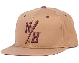 Batter Dark Khaki Snapback - Northern Hooligans