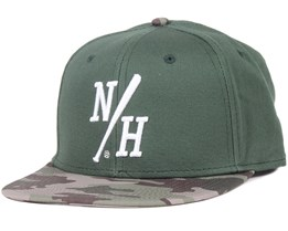 Batter Green/Camo Snapback - Northern Hooligans