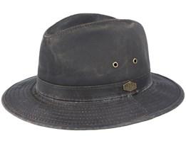 Oakwood Antique Cotton 6 Brown Hat - MJM Hats