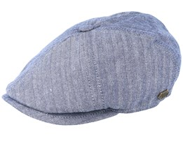 Rebel Golia Blue Flat Cap - MJM Hats