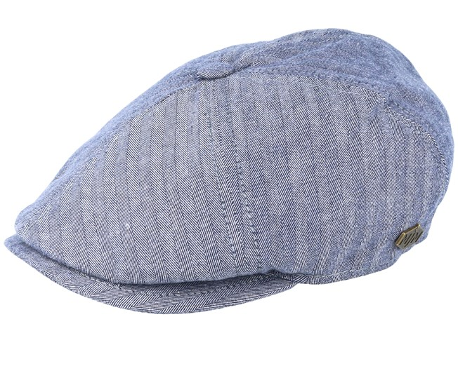 d4225d744 Rebel Golia Blue Flat Cap - MJM Hats caps | Hatstore.co.uk