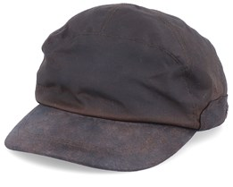 Canadian El Waxed Brown Ear Flap - MJM Hats
