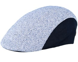 Freedom Blue/Navy Flat Cap - MJM Hats