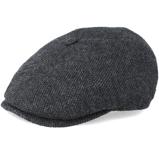 d34707a20 Rebel 100% Eco Merino Wool Grey Flat Cap - MJM Hat