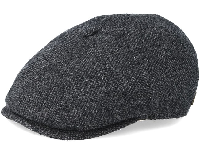 514edc765 Rebel 100% Eco Merino Wool Grey Flat Cap - MJM Hat - Start Czapkę ...
