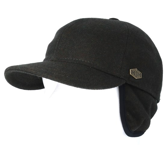 Baseball El 100% Eco Merino Wool Loden Dark Grey Fitted - Stetson caps  49116813bbe