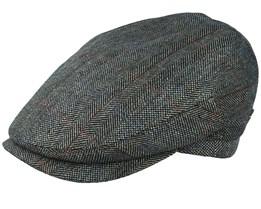 Jordan Silk Green Flat Cap - MJM Hats
