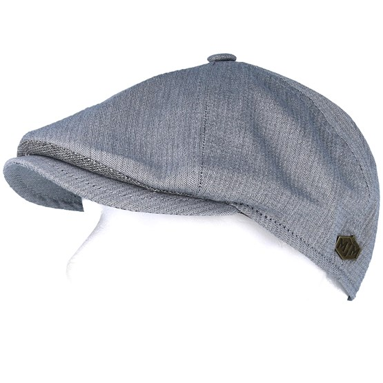 973e17ac1 Rebel Cotton Light Blue Flat Cap - MJM Hats