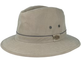 Travel Cotton Mix Olive Traveller - MJM Hats
