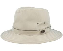 Travel Cotton Mix Khaki Traveller - MJM Hats