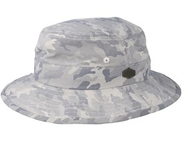 Gone Cotton Mix Grey Camo Bucket - MJM Hats