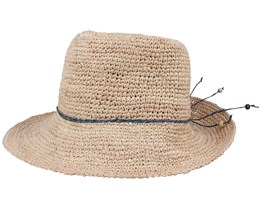 Alexandria Women Raffia Natural Sun Hat - MJM Hats
