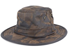 Sneek Cotton Mix Brown Camo Traveller - MJM Hats