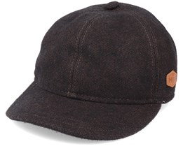 Baseball El 100% Eco Merino Wool Brown Ear Flap - MJM Hats