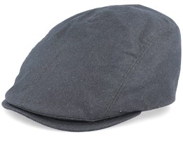 Daffy 3WP Virgin Wool Green Flat Cap - MJM Hats