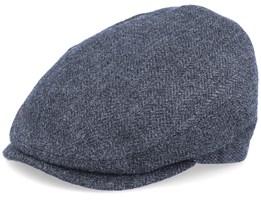 Jordan Eco Merino Wool Anthracite Flat Cap - MJM Hats