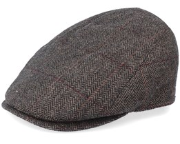 Bang Woolmix Brown Flat Cap - MJM Hats