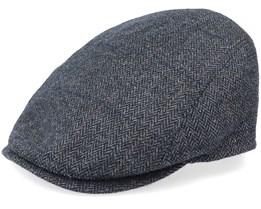 Bang Woolmix Anthracite Flat Cap - MJM Hats
