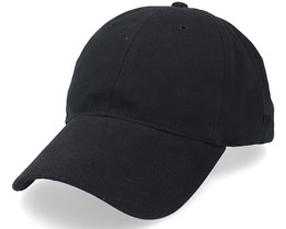 Baseball Cotton Mix Recycled Pet Black Dad Cap - MJM Hats