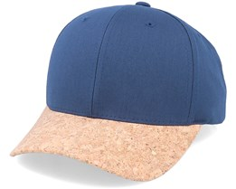 Navy/Cork Adjustable - Yupoong