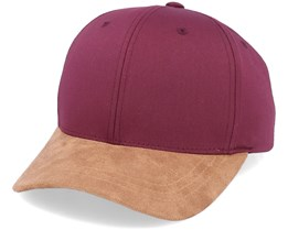 Maroon/Suede Adjustable - Yupoong