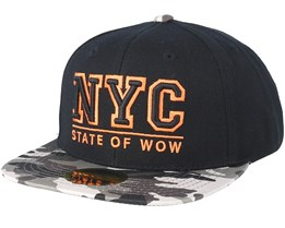 Kids Toronto 2 Black/Grey Snapback - State Of Wow
