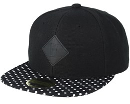 Kids Dot Black Snapback - State Of Wow