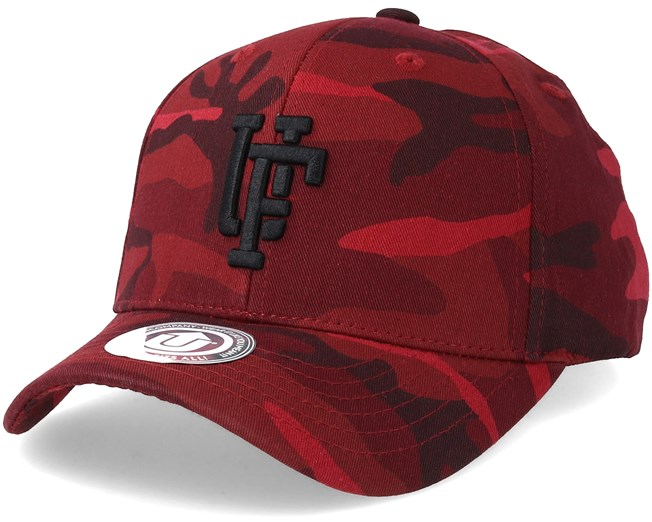 Ambush Baseball Cap Dark Bordeaux Black Camo Adjustable - Upfront lippis -  Hatstore.fi f6cc4f6115