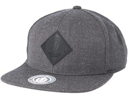 Offspring Dark Grey/Black Snapback - Upfront